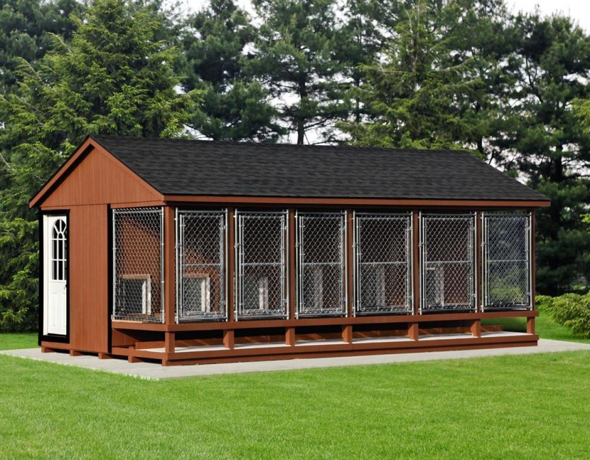 12x22 large dog kennel