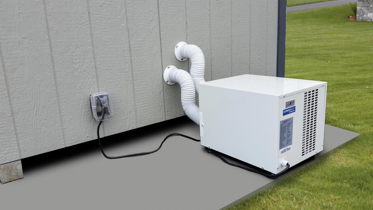 kennels for dogs heater ac unit