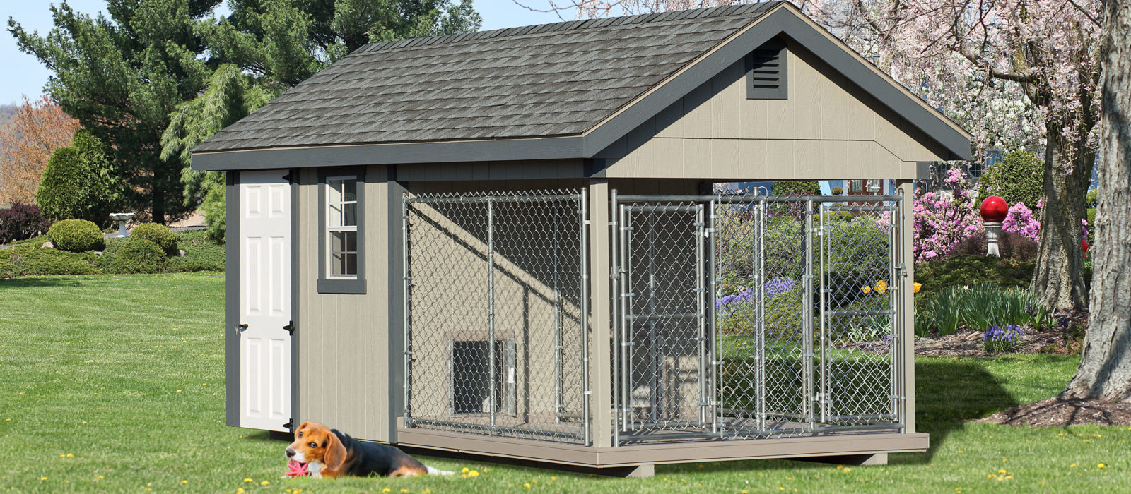 8x16 dog kennel