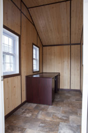 15x36 dog kennel interior