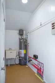 14x38 dog kennel interior