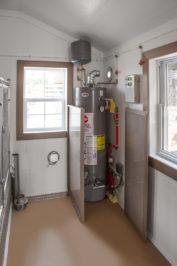 14x24 dog kennel interior