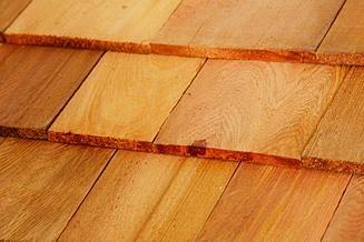 cedar shakes shingles for dog kennel