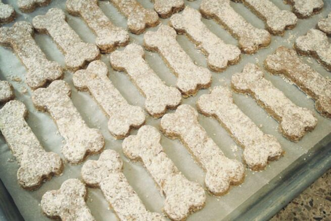 alton browns stinkin dog treats