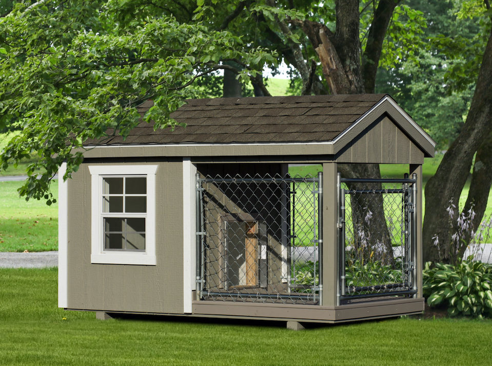 4x8 amish dog kennel for puppies
