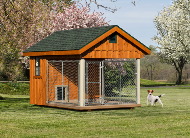 8x12 quality outdoor dog kennels