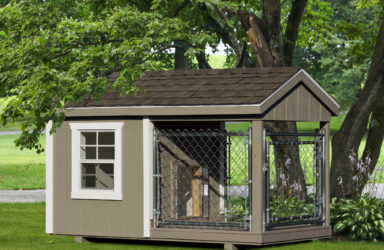 4x8 amish dog kennel