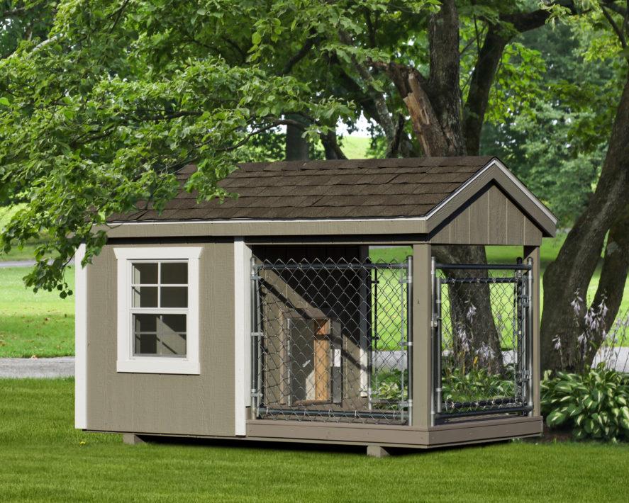 4x8 amish dog kennel