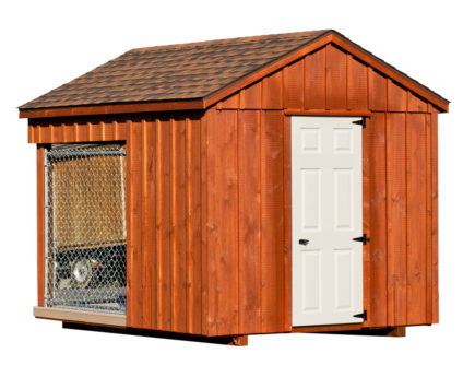8x10 amish dog kennel alt