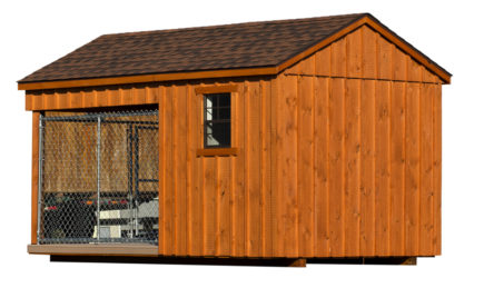 8x14 amish dog kennel alt