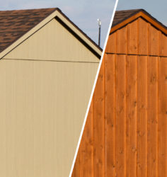 dog kennel siding styles