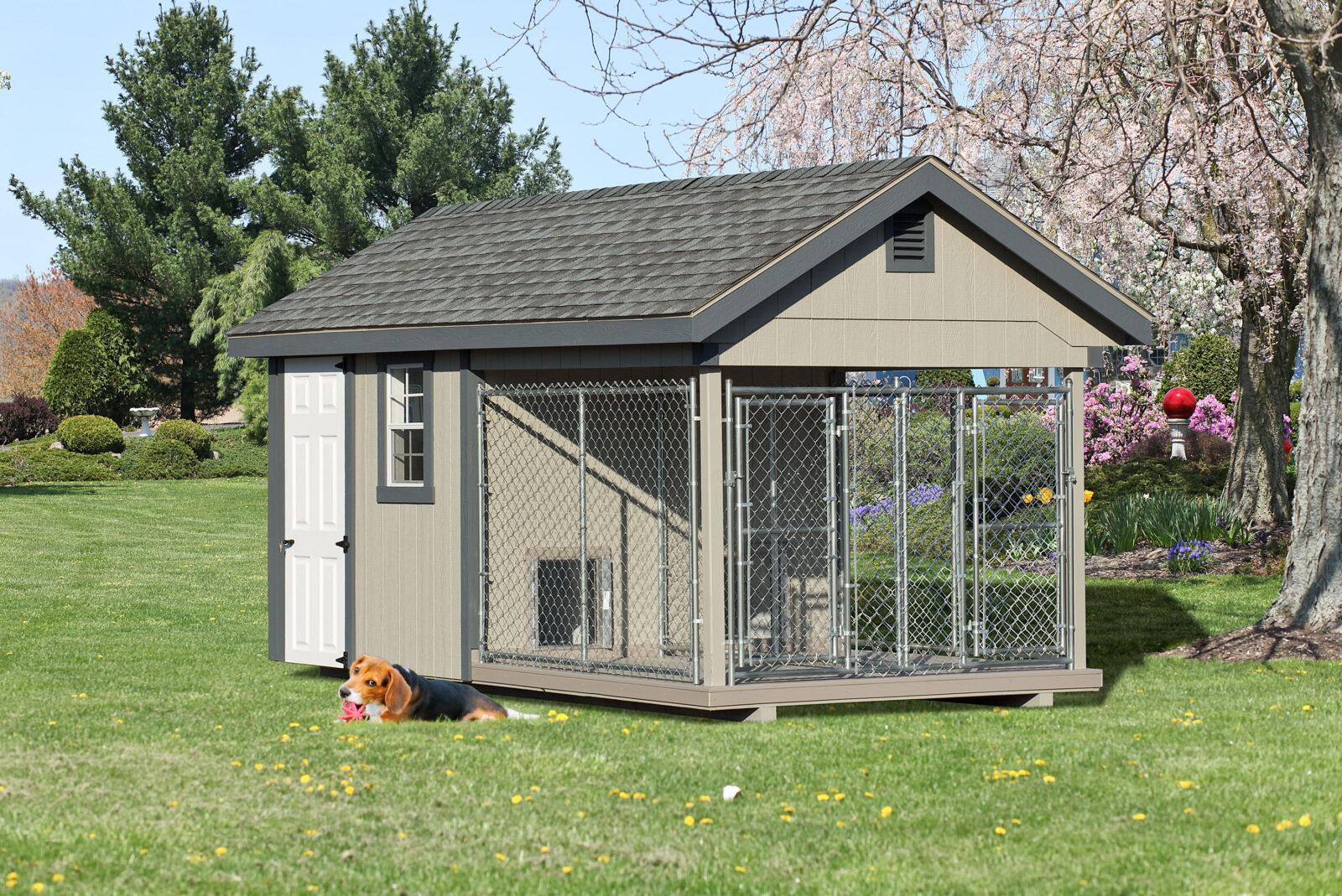 amish dog kennel